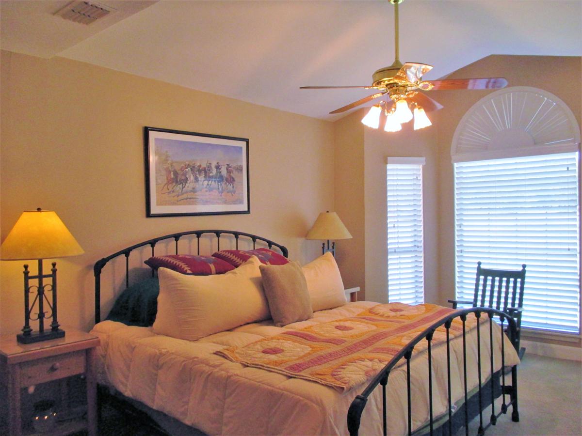 Master bedroom at 503 Oak Bend.
