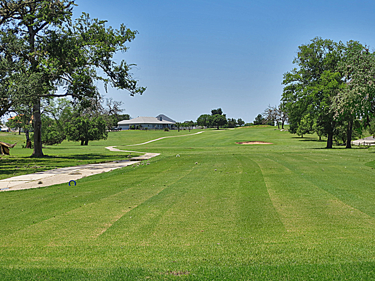 Golf Course at Flying L Ranch.