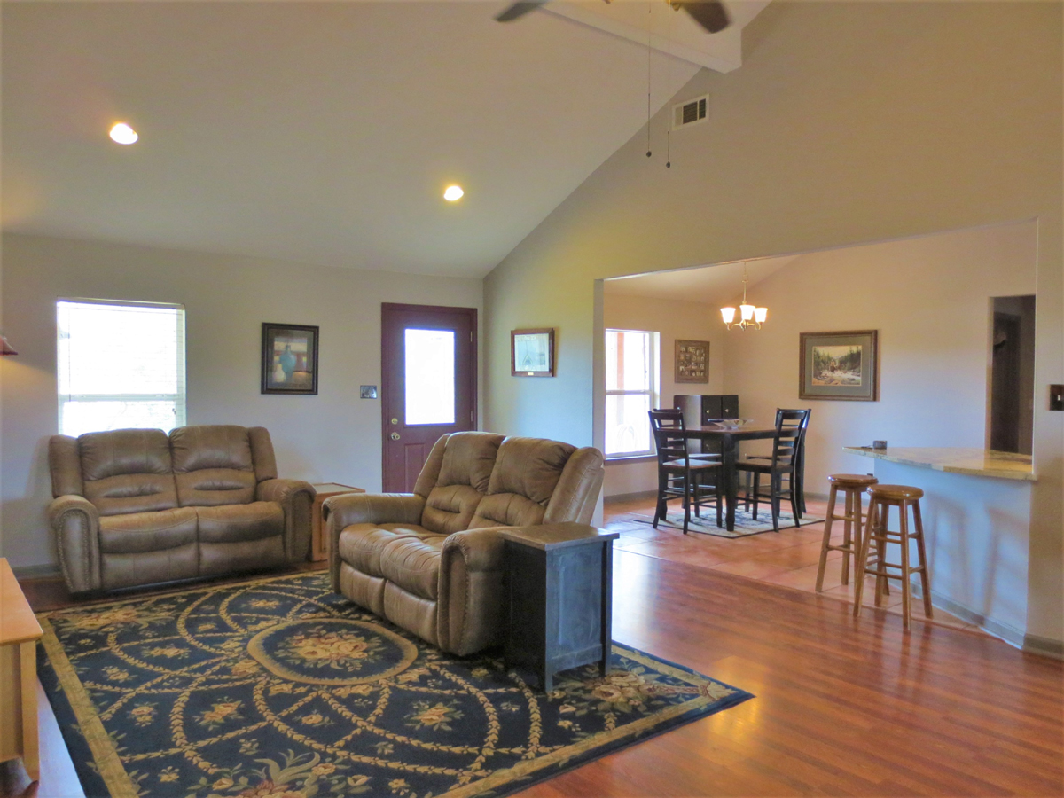 Living room in Wagon Trail