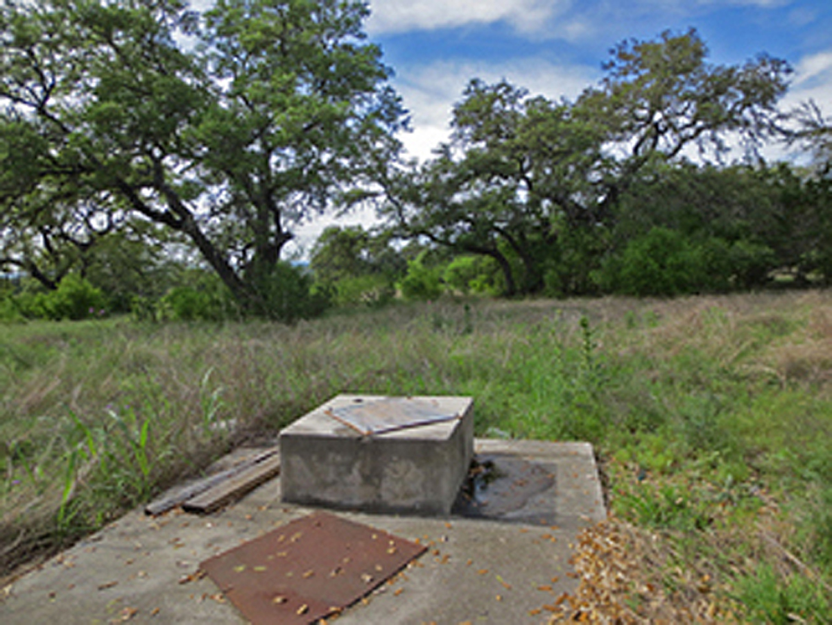 One of the original wells on this ranch