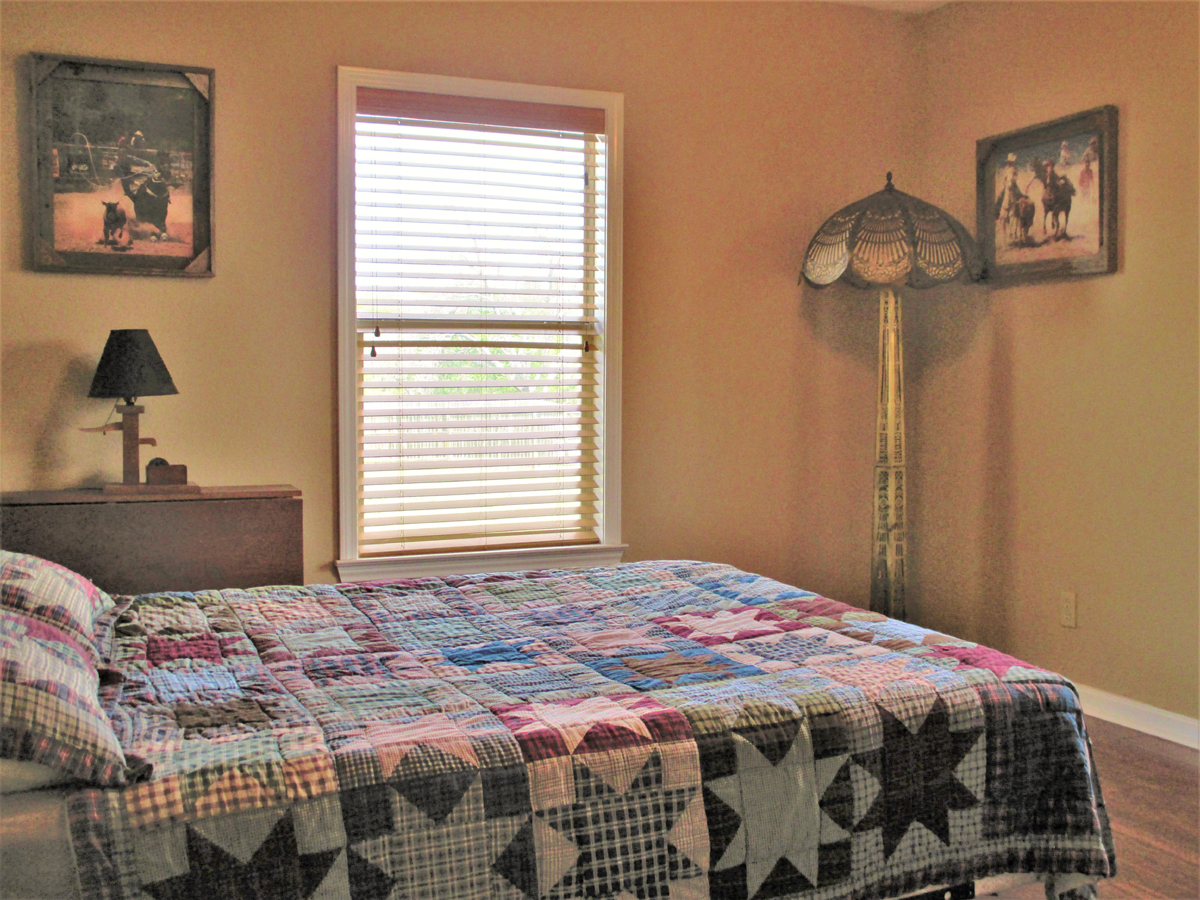 View from inside of bedroom in Wagon Trail