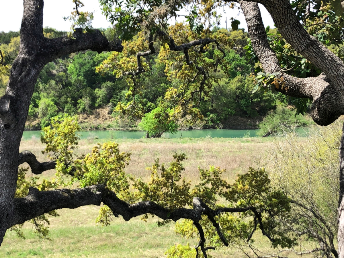 L0289/ 4.72 ACRES - RIVERFRONT in Bridlegate Ranch. Call Gail Stone Realty in Bandera, TX. 830-796-4640.