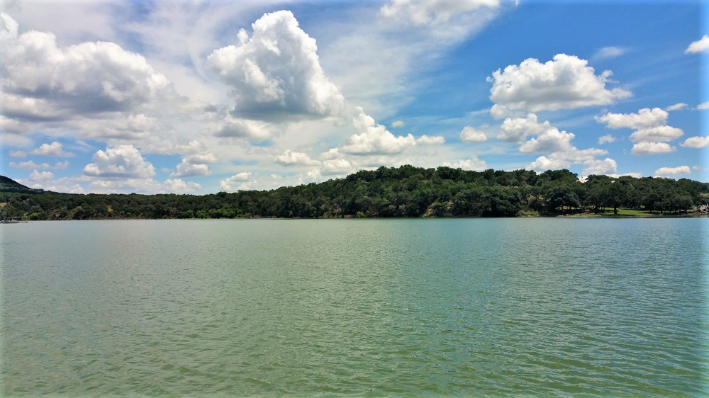 Lake in the Texas Hill Country