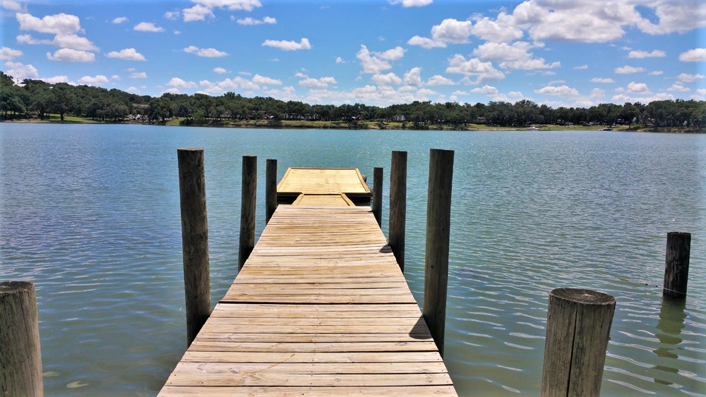 Pier on a Texas Hill Country Lake