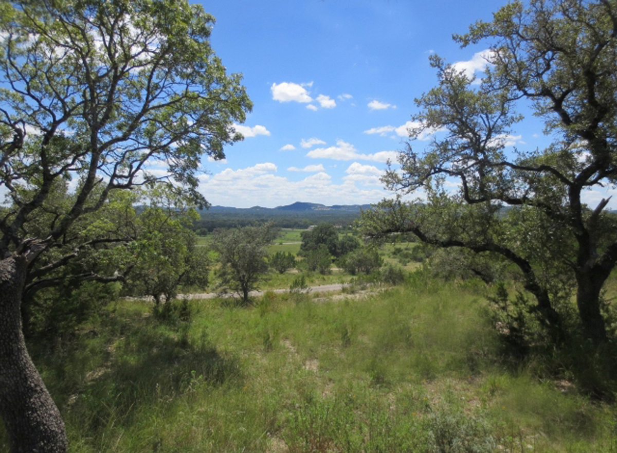 2 Acre View Property with a gentle slope / L0210 Listed for sale with Gail Stone Realty. 830.796.4640