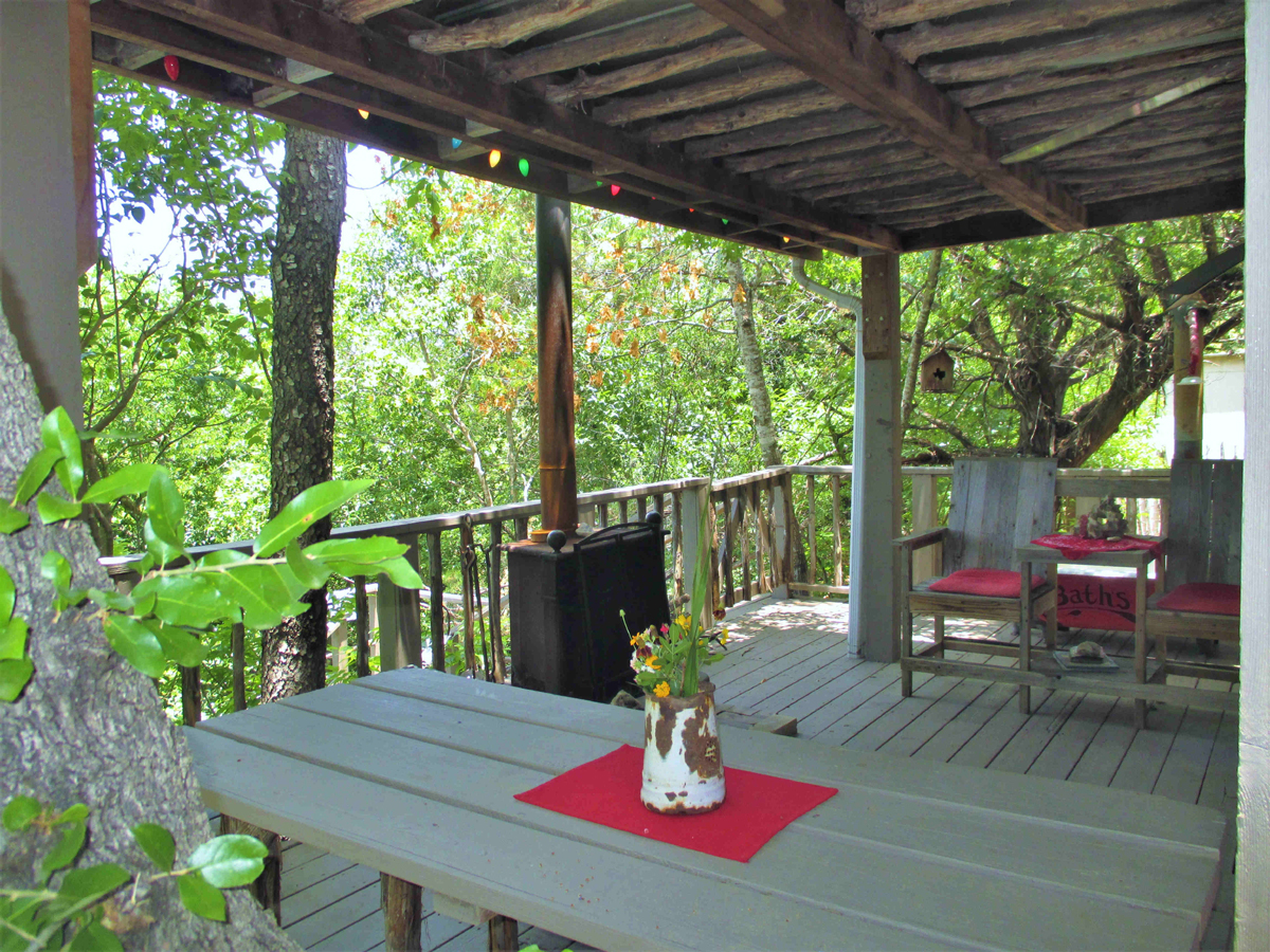 Treetop Caboose on the River on 1 Acre / H0236  Listed for sale with Gail Stone Realty  830-796-4640