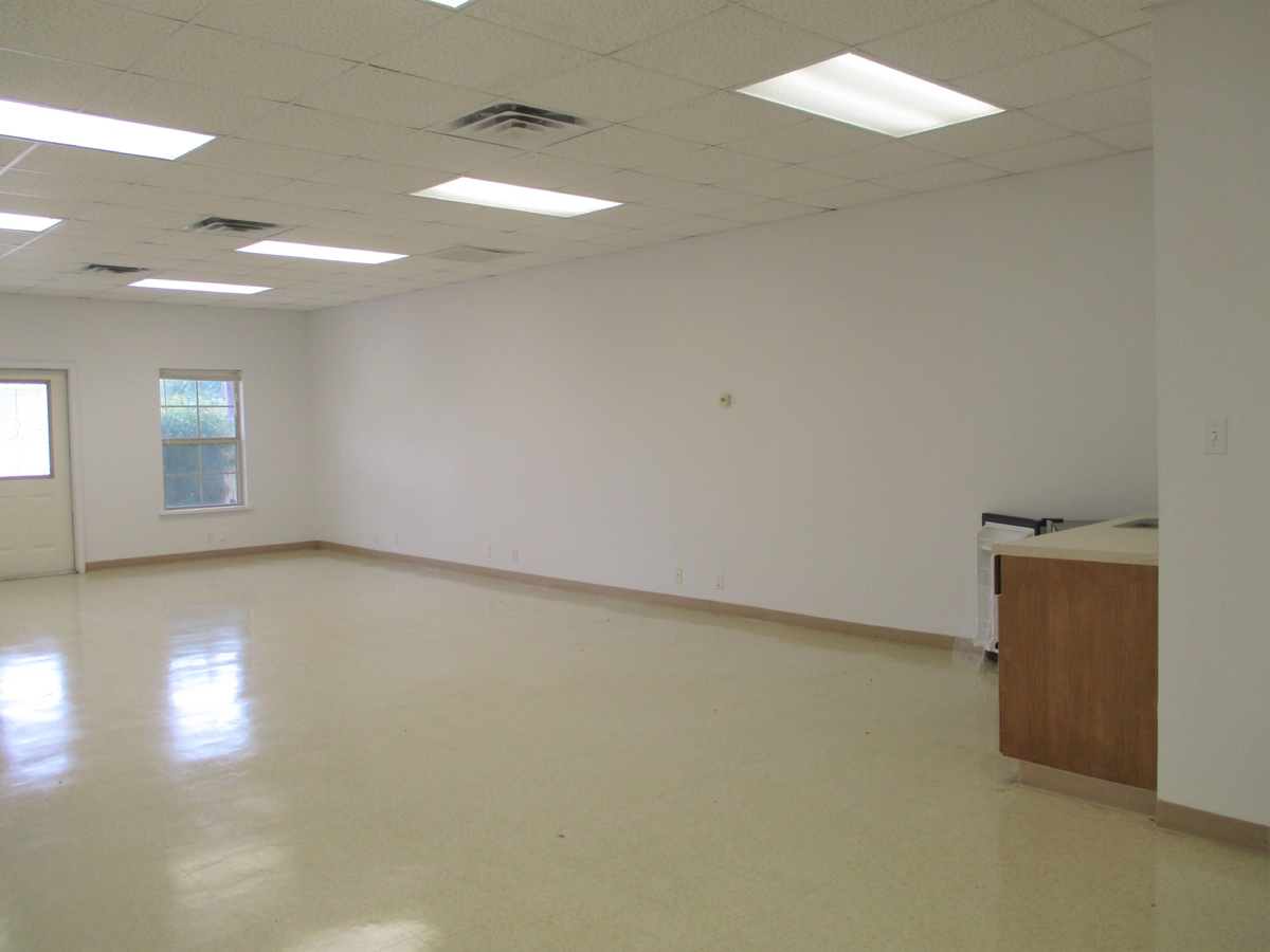 Inside Office #2-view towards front windows and door